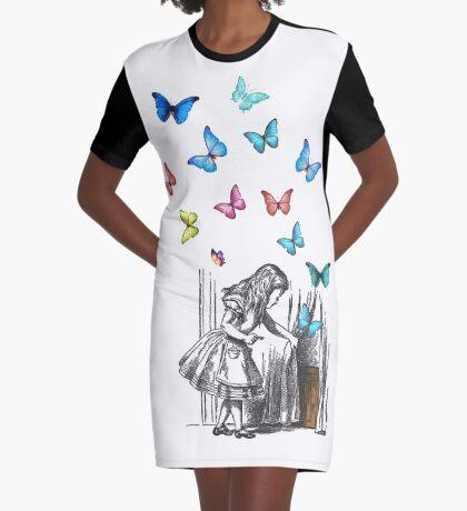 Alicia en el país de las maravillas - que comience la aventura Vestido camiseta