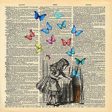 Alice In Wonderland - Let The Adventure Begin by maryedenoa