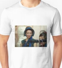 Dickens Fair Corset and Cap Lady T-Shirt