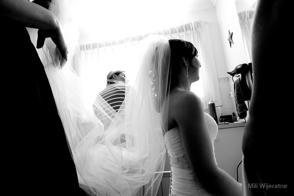 Bride preparing for big day by Mili Wijeratne