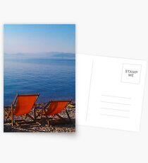on the beach Postcards