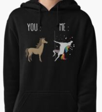 You and me Unicorn Pullover Hoodie
