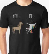 You and me Unicorn Unisex T-Shirt