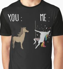 You and me Unicorn Graphic T-Shirt