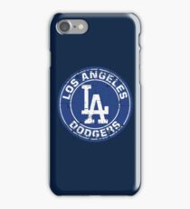 Los Angeles Dodgers Baseball Club MLB-Distressed iPhone Case/Skin