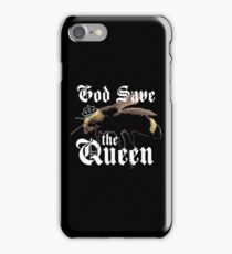 God Save The Queen Bee Shirt iPhone Case/Skin