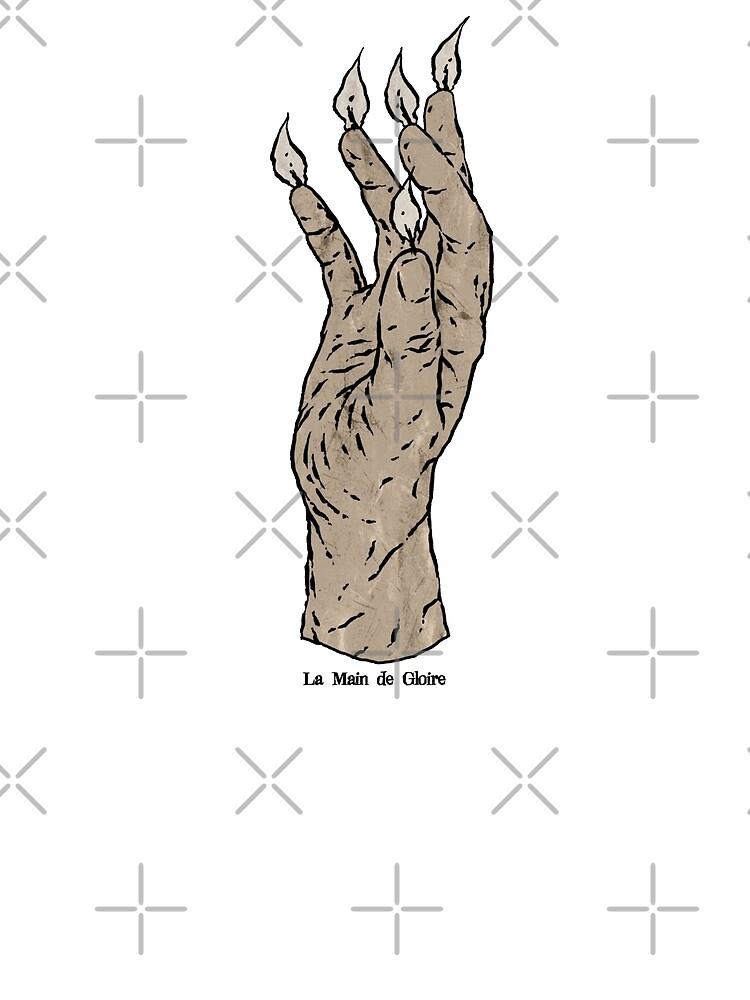 La Main de Gloire by matthewdunnart
