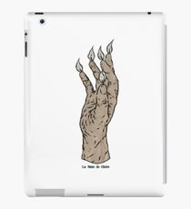 La Main de Gloire iPad Case/Skin