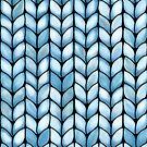 Chunky Aqua Knit by © Karin Taylor