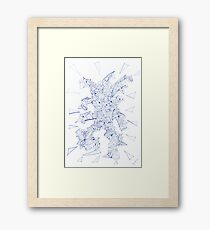0302 - Metamorphic Man Starting To Move Framed Print
