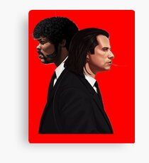 vincent&jules Canvas Print