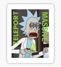 Teleport Massive Rick Sticker