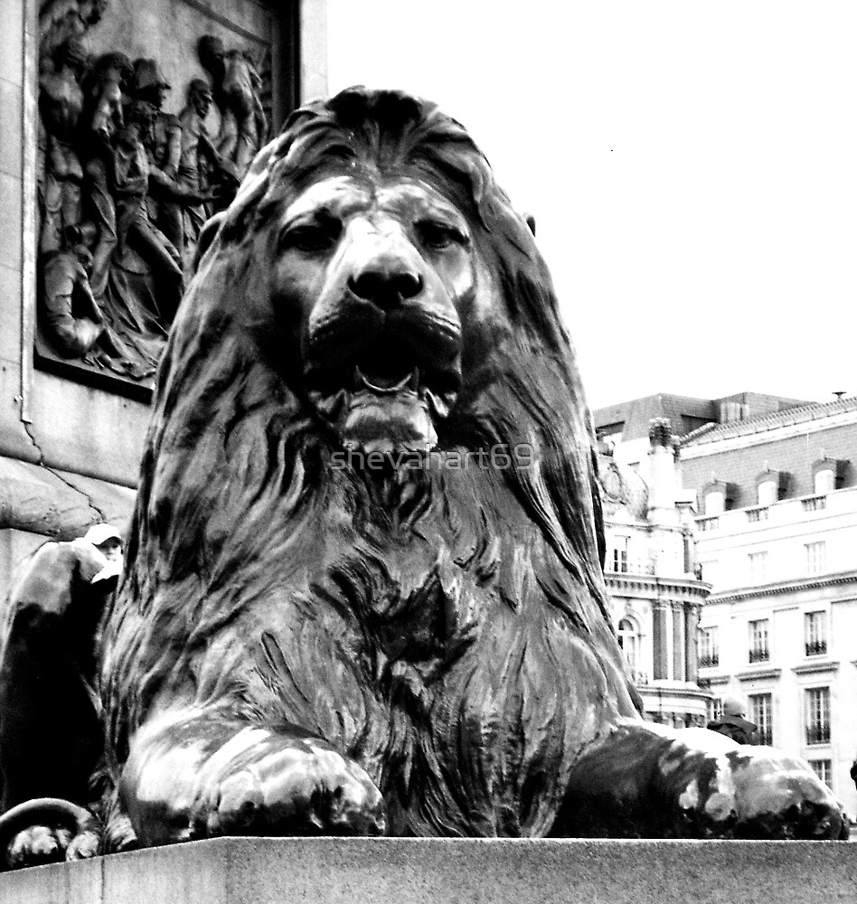 Black Lion of London by shevahart69