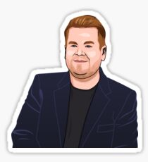 James Corden Sticker