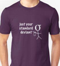 Standard Deviant (white) T-Shirt
