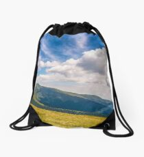 hill side meadow in summer Drawstring Bag