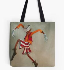 The Boy Puppet Tote Bag