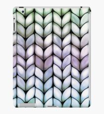 Chunky Lavender Forest Knit iPad Case/Skin
