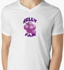 Jelly Fam Clothing & Etc. Men's V-Neck T-Shirt