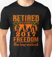 Retired Class Of 2017 Shirt T-Shirt