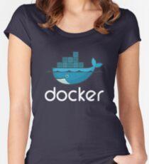 Docker Logo Women's Fitted Scoop T-Shirt