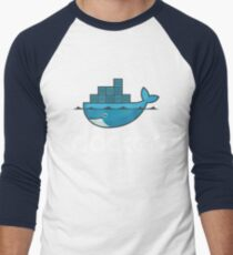 Docker Logo Men's Baseball ¾ T-Shirt