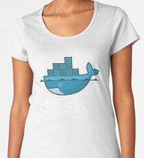 Docker Logo Women's Premium T-Shirt