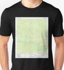 USGS TOPO Map Florida FL Kings Ferry 346938 1970 24000 T-Shirt