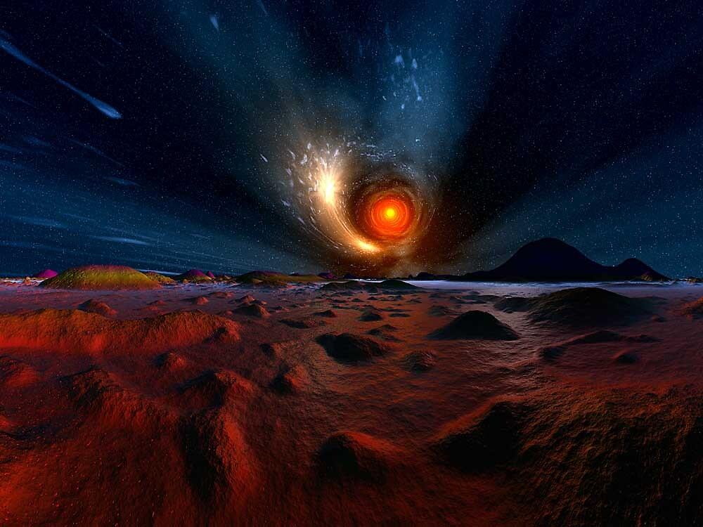 Spiraling Illuminants by Randy Bufano