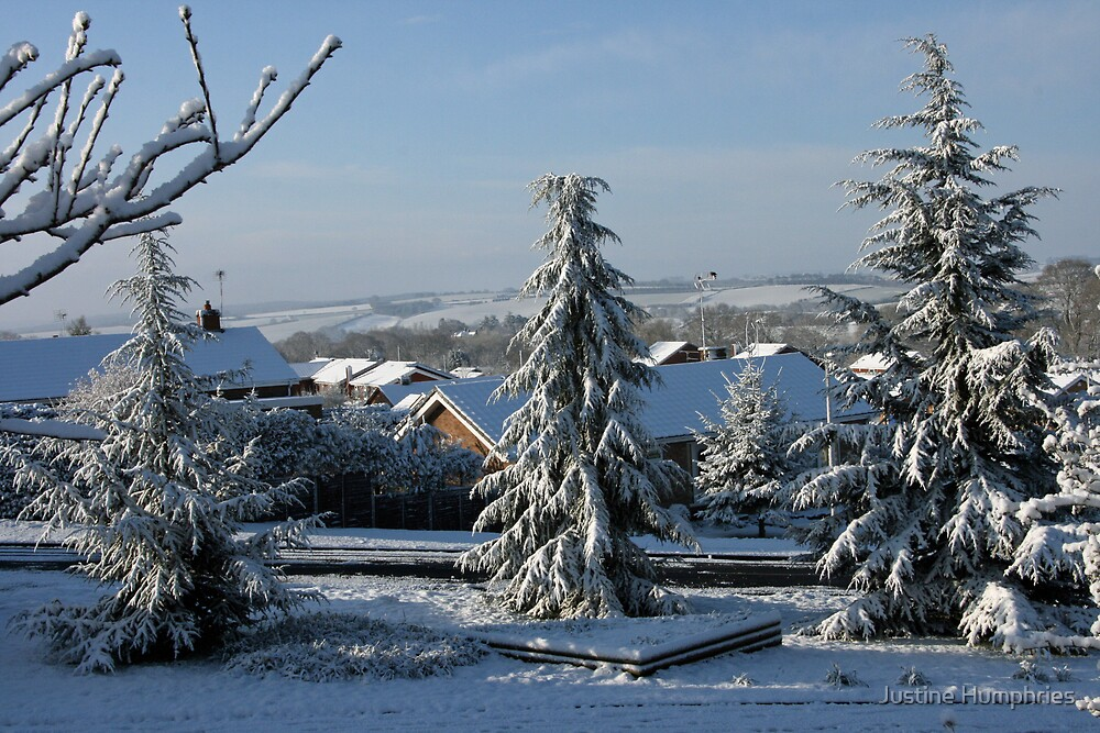 Highley......under a blanket of snow by Justine Humphries