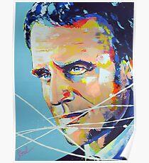 Président Emmanuel Macron Poster