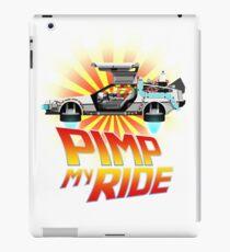 Pimp My DeLorean iPad Case/Skin