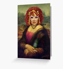 Moaner Linda (No Gold Frame) Greeting Card