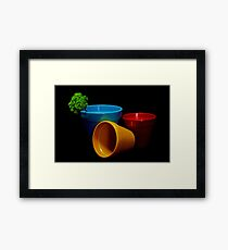 Primary Framed Print