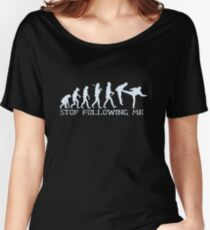 Stop Following ME Women's Relaxed Fit T-Shirt