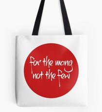 Jeremy Corbyn, for the many Tote Bag