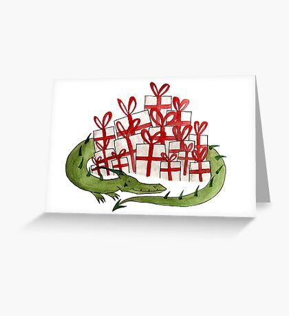 The Birthday Dragon Greeting Card