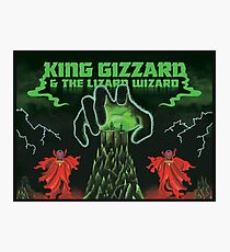 king gizard and the lizard wizard Photographic Print
