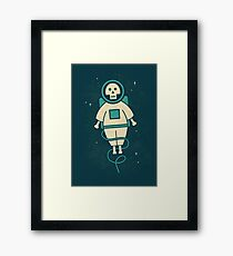 Dead Space Framed Print