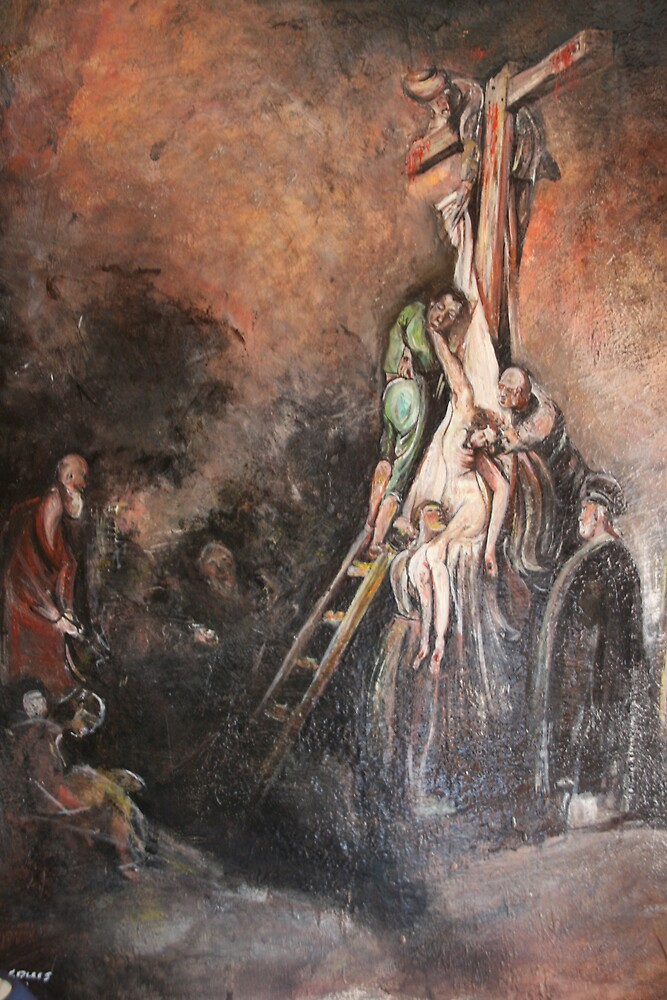 The Descent from the Cross by louisvisagie