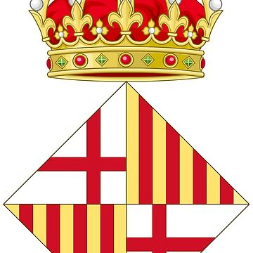 Barcelona coat of arms by Tonbbo