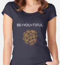 Be YOU tiful Women's Fitted Scoop T-Shirt
