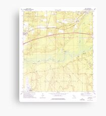 USGS TOPO Map Florida FL Holt 346670 1973 24000 Canvas Print