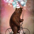 Birthday Bear by ChristianSchloe