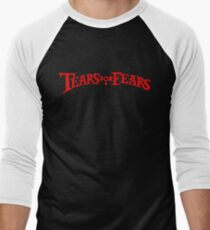 tubce Men's Baseball ¾ T-Shirt
