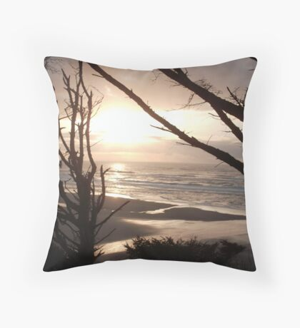 Darkness Passes! Throw Pillow