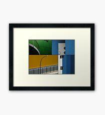 Berlin Urban Fragments Framed Print