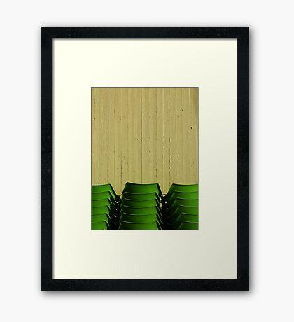 Fragmented Framed Print