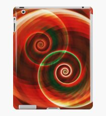 Swirly Generated Dual Strange Attractors iPad Case/Skin