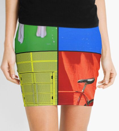 Just the Colours Please Mini Skirt
